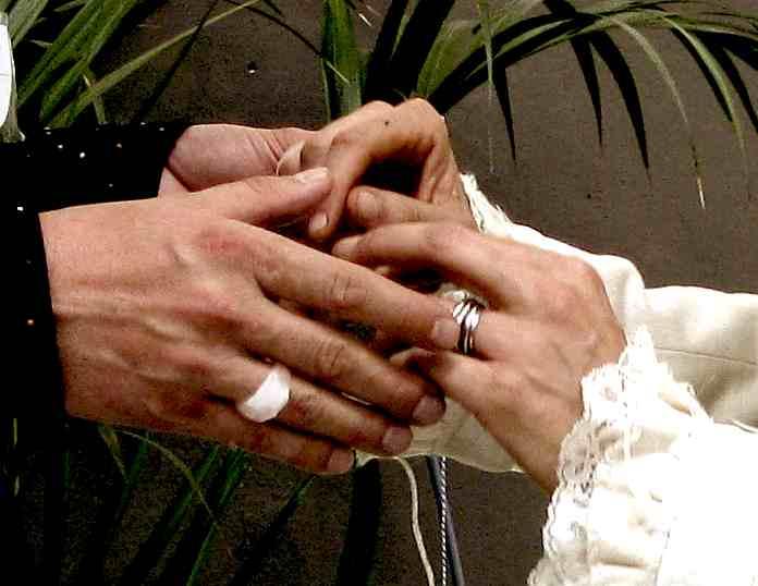 Stap 4 : Promise each other faith